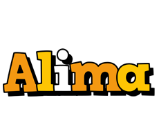 Alima cartoon logo