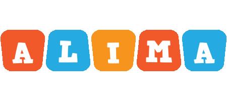 Alima comics logo