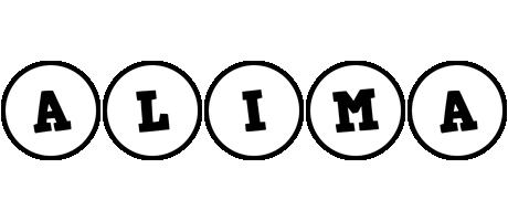 Alima handy logo