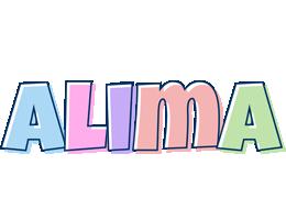 Alima pastel logo