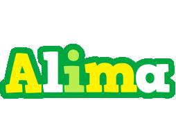 Alima soccer logo
