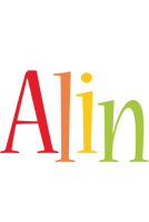 Alin birthday logo