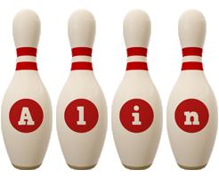 Alin bowling-pin logo