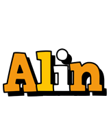 Alin cartoon logo