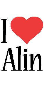 Alin i-love logo