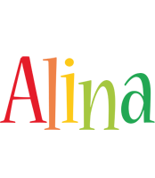 Alina birthday logo