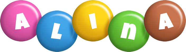 Alina candy logo