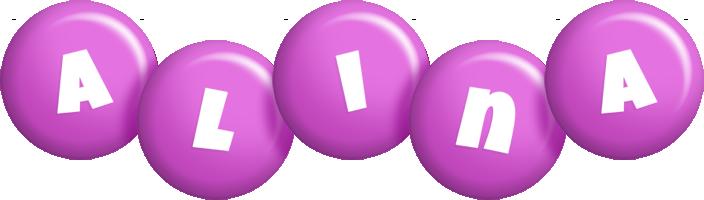 Alina candy-purple logo