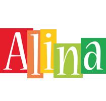 Alina colors logo