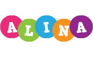 Alina friends logo