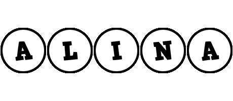 Alina handy logo
