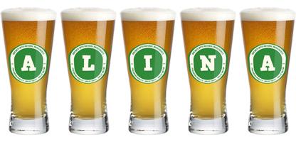 Alina lager logo