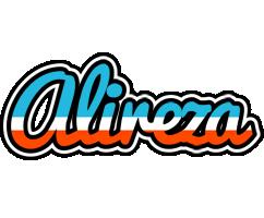 Alireza america logo