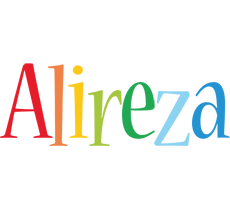 Alireza birthday logo