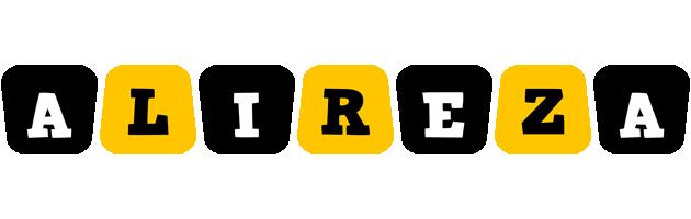 Alireza boots logo