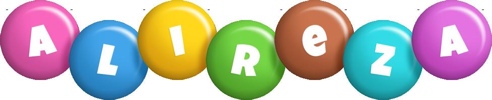 Alireza candy logo