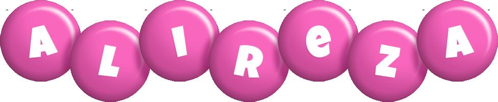 Alireza candy-pink logo