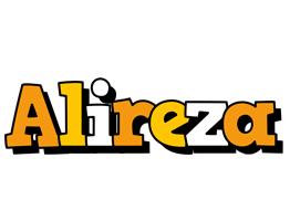 Alireza cartoon logo