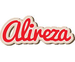 Alireza chocolate logo