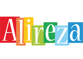 Alireza colors logo