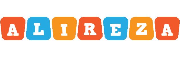 Alireza comics logo