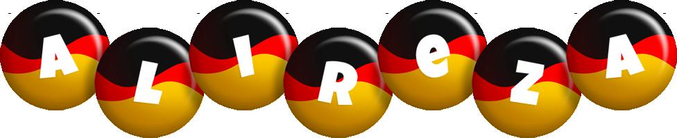Alireza german logo