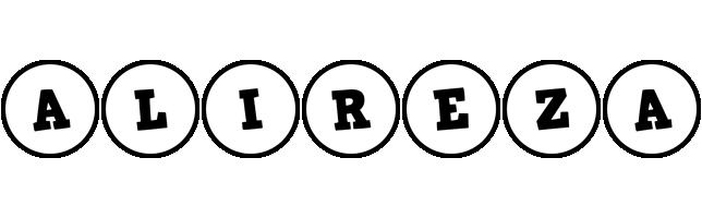 Alireza handy logo