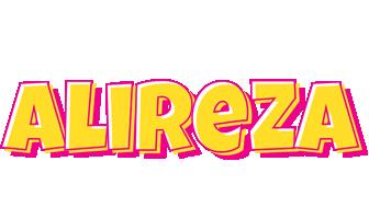 Alireza kaboom logo