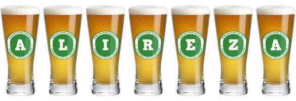 Alireza lager logo