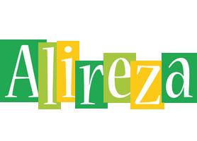 Alireza lemonade logo