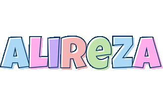Alireza pastel logo