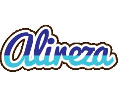 Alireza raining logo