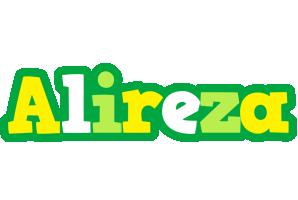 Alireza soccer logo