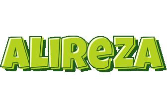 Alireza summer logo