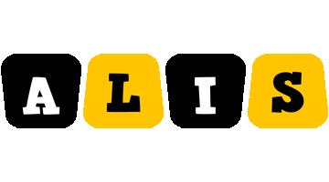 Alis boots logo