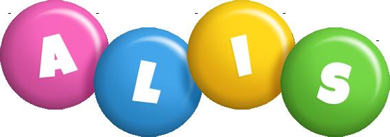 Alis candy logo