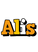 Alis cartoon logo