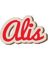 Alis chocolate logo