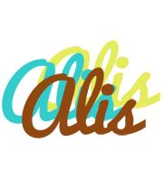 Alis cupcake logo