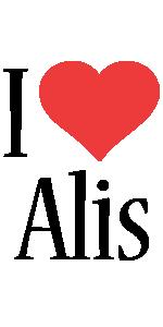 Alis i-love logo