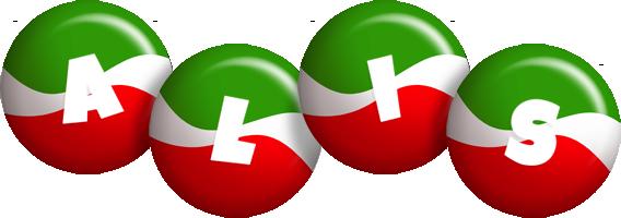 Alis italy logo