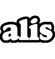 Alis panda logo