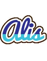 Alis raining logo