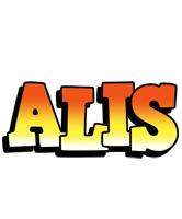 Alis sunset logo