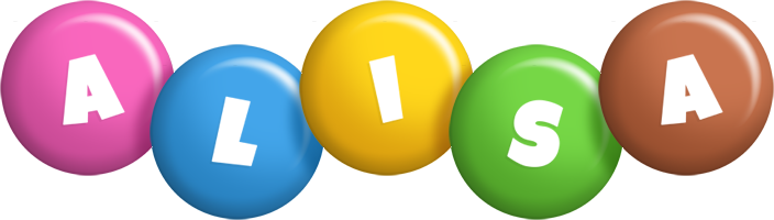 Alisa candy logo