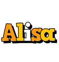 Alisa cartoon logo