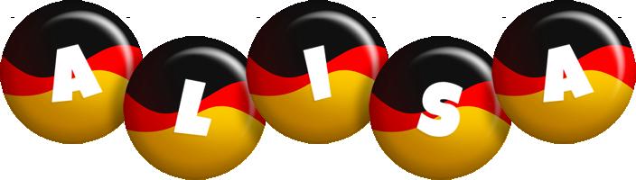 Alisa german logo