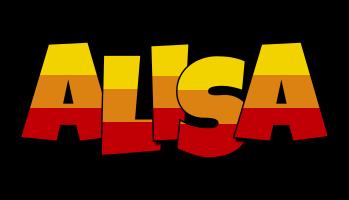 Alisa jungle logo