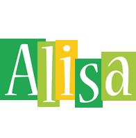 Alisa lemonade logo
