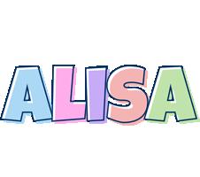 Alisa pastel logo